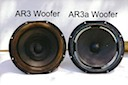 AR-3 & AR-3a Woofers Before Refoaming