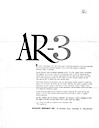 AR-3 Brochure with Review pg1