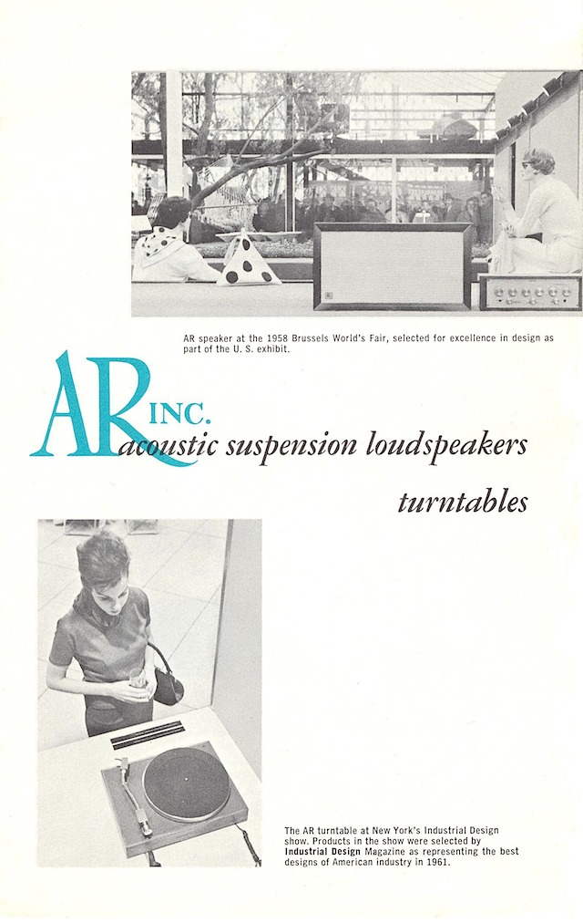 AR-3 and turntable page 1