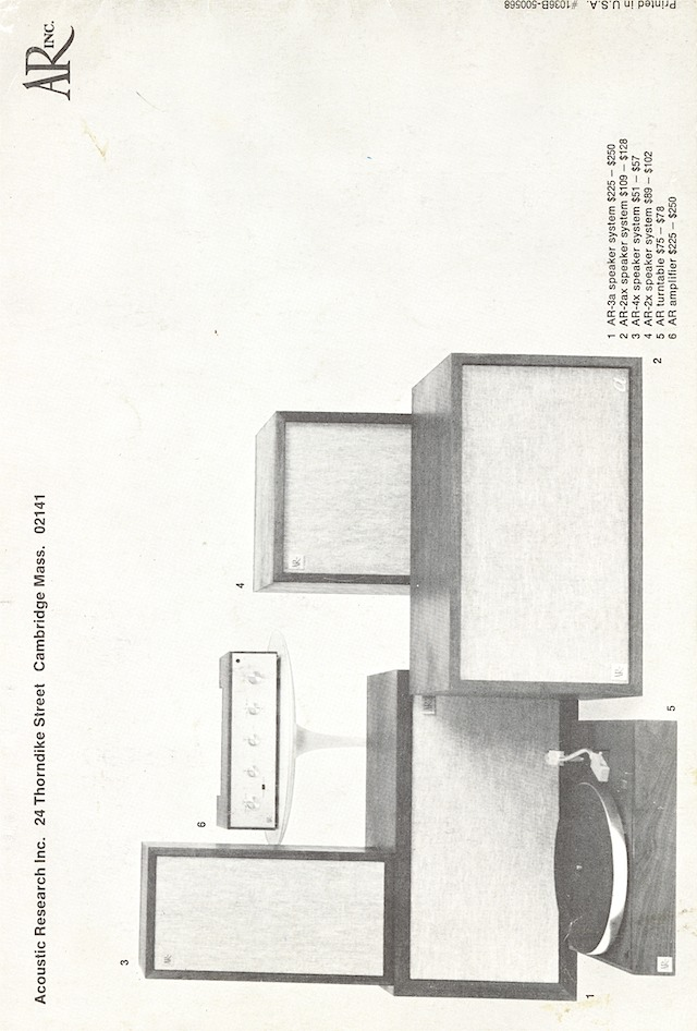 ar hifi components late'60s page 20